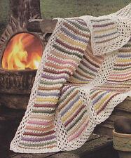 Crochet Pattern ~ FALL BREEZE AFGHAN ~ Instructions