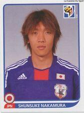 N°388 SHUNSUKE NAKAMURA # JAPAN STICKER PANINI WORLD CUP SOUTH AFRICA 2010