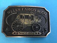 Wells Fargo Sterling Belt Buckle  AB 256