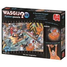 Wasgij Mystery Puzzle 1000 Piece The Purrfect Escape #13 Cartoon Jigsaw Puzzle