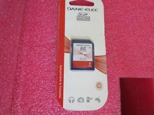 Dane-Elec 4GB.SDHC Class 4 High Speed Smartphone Camera SD Card New Sealed