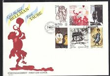 SWEDEN  1990  FDC SC# 1831 - 1836 Allusions to Poetry Verses of Carl Bellman and