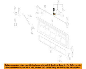 TOYOTA OEM 05-15 Tacoma Front Door-Handle, Inside Cushion 9008054005