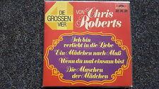 Chris Roberts - Die grossen Vier 2 x 7'' Single [Wenn du mal einsam bist]