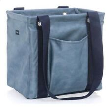 Thirty One - Small Utility Tote - Denim Distressed - Brand New