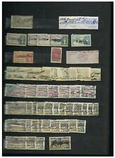 Portugal Revenue Stamps on 3 pages