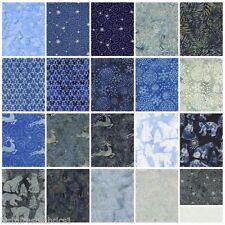 """Island Batik STAMPS - Tinsel - (42) 5""""  Fabric Squares"""