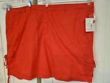 Brand New Fashion Bug Shorts Size 30 NWT Red