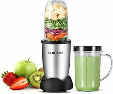 Personal Portable Electric Blender 250W for Shakes Smoothies Mixer 16 oz Silver
