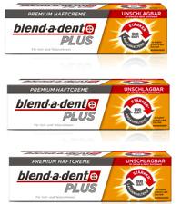 Blend-a-dent Plus Duo-Kraft Premium  Haftcreme 3 x 40 g o. 1 x 40 g