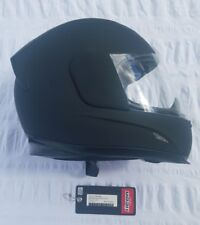$375 MSRP Icon Airframe Helmet Rubatone Full Face Motorcycle Rubber Black XS
