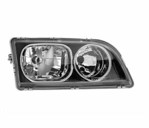 VOLVO S40 1 2002-2003 BLACK WITH CHROME RINGE VP1377P RIGHT HEADLIGHT RHT