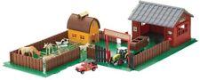KIDS TOY BUILD A FARM HOUSE BARN WITH FARM ANIMALS TRACTOR TRAILER HOUSE