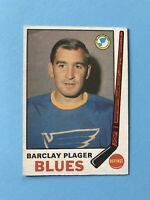 Barclay Plager 1969-70 O-Pee-Chee OPC Hockey Card #176  See Photos for Condition
