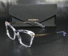 DOLCE & GABBANA DG5025 3133 Crystal Demo Lens 53 mm Women's Eyeglasses