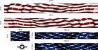 American Flag Graphic Boat Vinyl Wrap Fishing Pontoon  Decal  CUSTOM BOAT WRAP