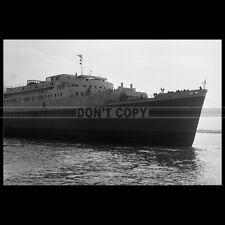 Photo B.002308 SS MAASDAM HOLLAND AMERICA LINE 1952 PAQUEBOT OCEAN LINER