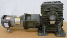 BALDOR AC MOTOR, VM3611T, 3HP, WINSMITH GEAR REDUCER 941CDBS061XOFT, 50:1