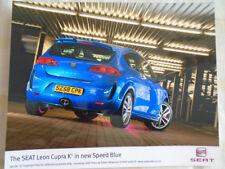 SEAT Leon Cupra K1 in Blu Speed PRESS PHOTO AGOSTO 2008
