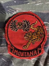 Vietnam War Theater Special Forces MACV SOG CCC Recon Team MONTANA Patch
