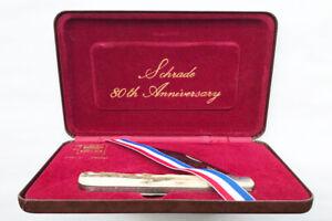 Schrade pocket knife 80th Anniversary unused in original box