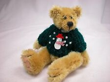 "World of Miniature Bears 3.75"" Mohair Bear Jim #1019 Collectible Miniature Bear"