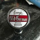 VINTAGE LANG'S OLD GERMAN BEER BALL TAP KNOB  / HANDLE LANG BREWING BUFFALO NY