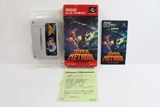 Super Metroid Boxed SFC Nintendo Super Famicom SNES Japan Import US Seller I3801