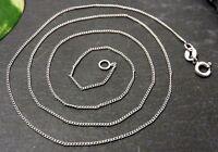 Zierliche 925 Sterling Silber Kette Stexa Signiert Gliederkette Dünn Leicht
