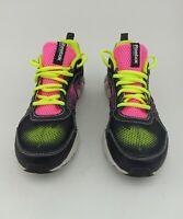 Reebok Womens Sneakers Sz 5.5 Pink/ black/Yellow Zig Tech Shoes Athletic Running