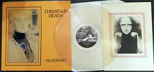 Christian Death – Deathwish Ltd Ed on Clear Vinyl with Booklet