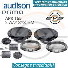 Audison APK 165 Kit Set Casse Altoparlanti Auto 2 vie 16,5cm 210W con Griglie