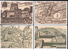 Vaticano P 22/1-4 **, 200 L., 4 diversi tutta cose-carte immagine