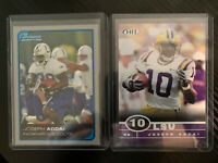 Joseph Addai Rookie Cards RC Colts 2006 SAGE HIT Bowman Lot of 2  (Shipped PWE)