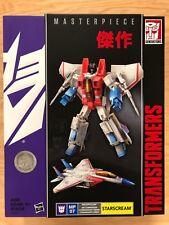 "Hasbro Transformers Masterpiece MP-07 Starscream TRU Toys ""R"" Us MISB 2015 Exclu"