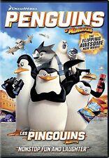 PENGUINS OF MADAGASCAR    (DREAMWORKS)    **NEW DVD**
