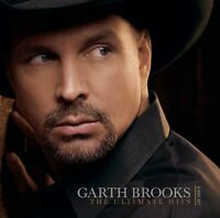 """GARTH BROOKS """"ULTIMATE HITS"""" 2 CD+DVD COUNTRY NEW!"""