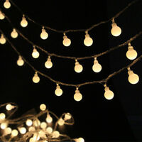 5M 50LED Fairy LED String Lights Christmas Round Ball Blubs Wedding Party Lamp