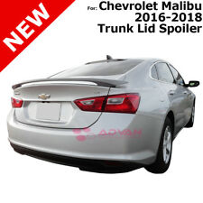 For Chevrolet Malibu 4DR 16-18 Summit White WA8624 Painted Rear Trunk Spoiler