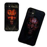 Star Wars Darth Maul TPU iPhone 7 8 Plus X XS XR 11 Pro Max Case Cover
