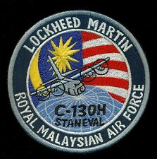 Royal Malaysian Air Force C-130H Stan Eval Lockheed Martin Patch S-21