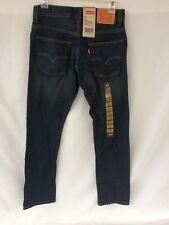 "Levis 511 Skinny Jeans Boys 16 Reg 28x28 Slim Fit Straight Leg ""Dirtied Stretch"""