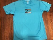 Boys Aqua Billabong Short Sleeve Rash Guard Swim Shirt Size Youth 16