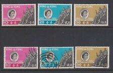 HONG KONG 200-202 1962 set  mint & used