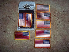 New listing 8 Us Flags Shoulder Patch Military Flag Army Marine Navy Air Force Patch Us Flag