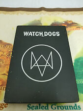 Watch Dogs Steelbook Only No Game