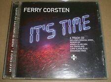 It's Time Ferry Corsten~2004 EU Import Trance Electro CD Maxi-Single~FAST SHIP!