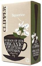 Clipper Biologique Réglisse Infusion Thé 20 sachets de thé