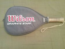 Wilson Rb100 Graphite Staff Racketball Racket. Midsize. Vg Condition. W/Cover