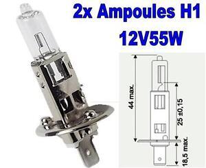 2 Ampoule H1 12V55W P14.5S VW MULTIVAN T5